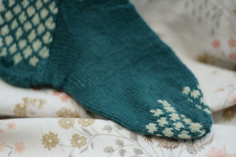 Knit bluesock02