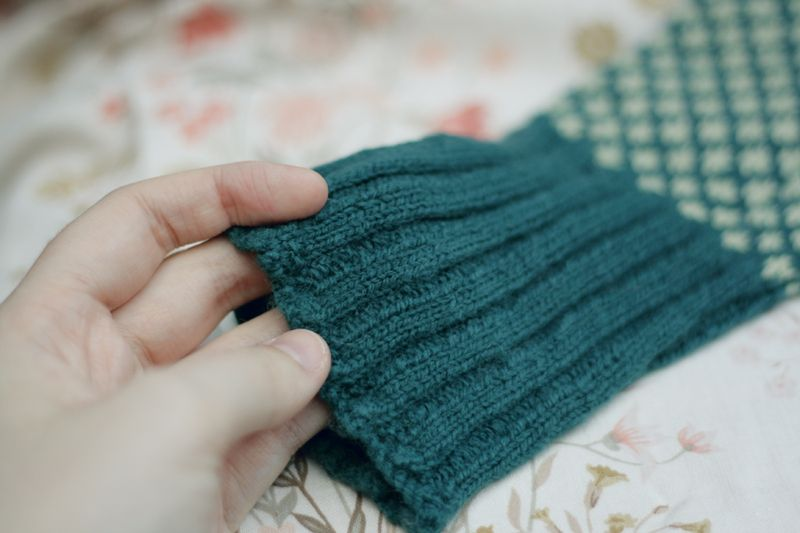 Knit bluesock04