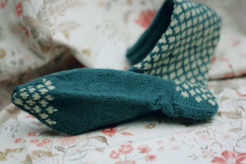 Knit bluesock05