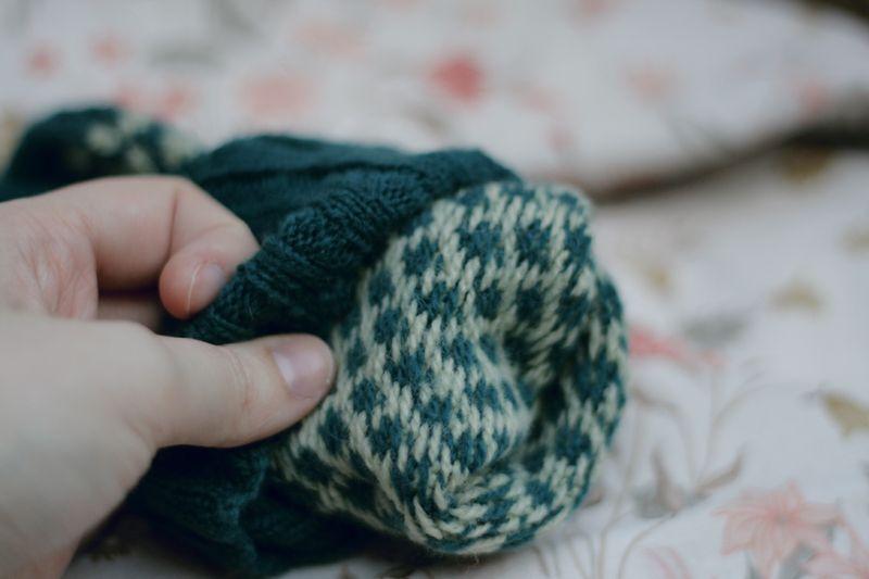 Knit bluesock06