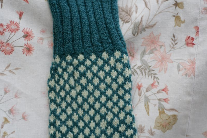 Knit bluesock03